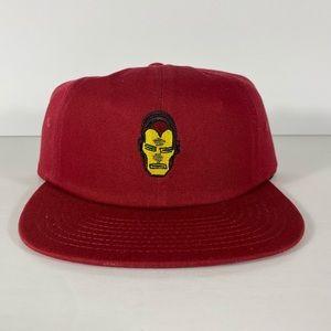Vans x Marvel Avengers Iron Man Jockey Hat